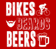 Beer Label - Bikes Beards Beers