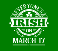 Beer Label - Everyones Irish March 17