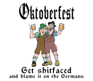 Beer Label - Funny Oktoberfest