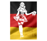Beer Label - German Beer Girl Costume Png