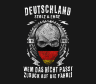 Beer Label - Germans Proud And Honor Back On Nights
