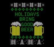 Holiday Beer Label - Good Beer