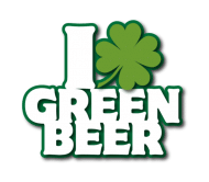 Holiday Beer Label - I Love Green Beer