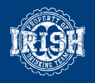Beer Label - Irish Drinking Team Bottle Cap