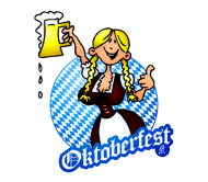Celebration Beer Label - Oktoberfest Girl