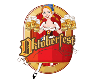 Celebration Beer Label - Oktoberfest Cartoon Pin Up Blond German Beer
