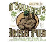 Beer Label - Osquatchs Irish Pub