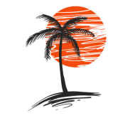 Beer Label - Palm Tree