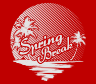 Beer Label - Spring Break