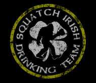 Beer Label - Squatch Irish Drinking Team