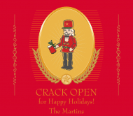 Holiday Beer Label - Nutcracker Original