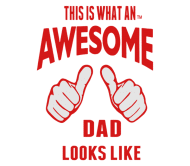 Beer Label - This Is What An Awesome Dad Looks Like