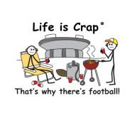 Beer Label - Why Theres Football Life Is Crap