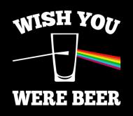 Beer Label - Wish You Were Beer
