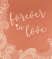 Anniversary Wine Label - Forever Love
