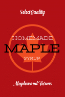 Food Label - Maple Goodness