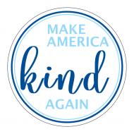 Expressions Sticker - Make America Kind Again