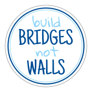 Expressions Sticker - Build Bridges Not Walls