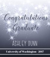 Graduations Champagne Label - Bright Stars