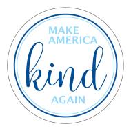 Expressions Sticker - Make America Kind Again