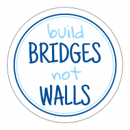 Expressions Sticker - Build Bridges Not Walls
