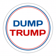 Expressions Sticker - Dump Trump
