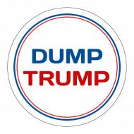 Expressions Sticker - Dump Trump