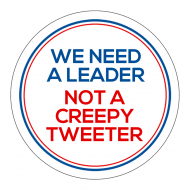 Expressions Sticker - We Need A Leader