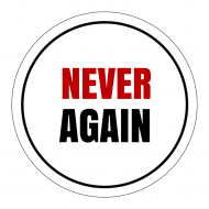 Expressions Sticker - Never Again