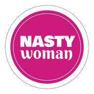 Expressions Sticker - Nasty Woman Anti Trump