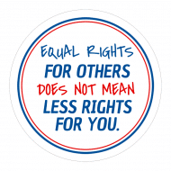 Expressions Label - Equal Rrights For Others