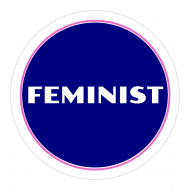 Expressions Sticker - Feminist