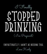 Baby Wine Label - Im Pregnant