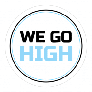 Expressions Sticker - We Go High