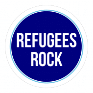 Expressions Sticker - Refugees Rock