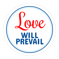 Expressions Sticker - Love Will Prevail