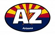 Sticker - Arizona State Flag