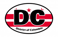 Sticker - District Of Colombia State Flag