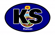 Sticker - Kansas State Flag