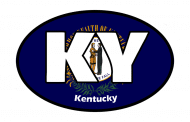 Sticker - Kentucky State Flag