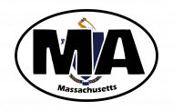 Sticker - Massachusetts State Flag