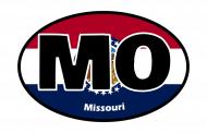 Sticker - Missouri State Flag
