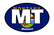 Sticker - Montana State Flag