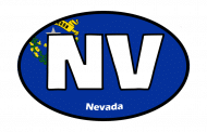 Sticker - Nevada State Flag