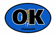 Sticker - Oklahoma State Flag