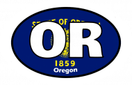 Sticker - Oregon State Flag