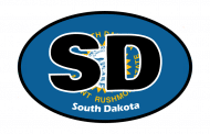 Sticker - South Dakota State Flag