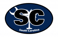Sticker - South Carolina State Flag