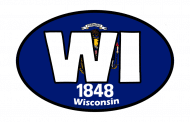 Sticker - Wisconsin State Flag