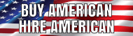 Bumper Sticker - Buy American Hire American